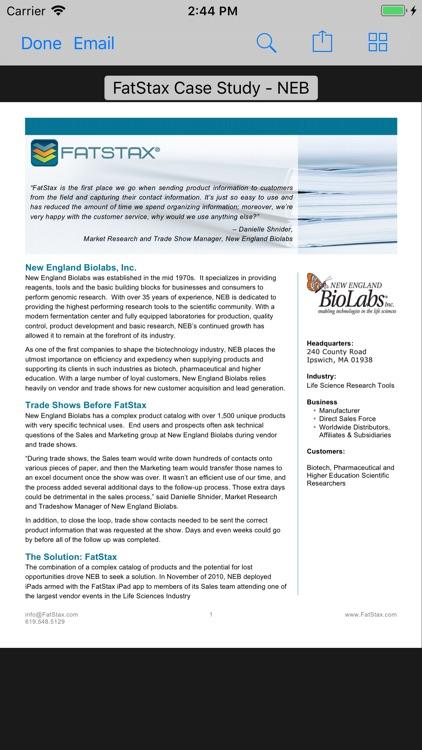 FatStax for Sales by FatStax LLC