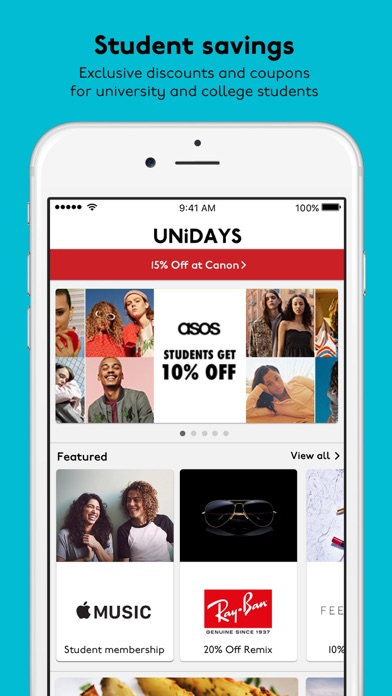 UNiDAYS: Student Deals for Windows