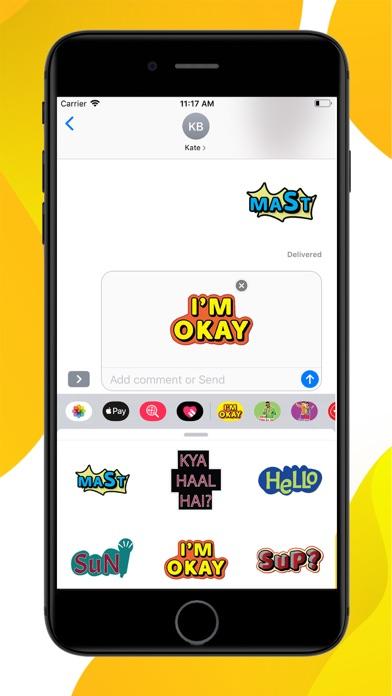 Chit Chat Stickers screenshot 3