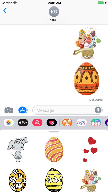 Every Bunny Loves Stickers Emo