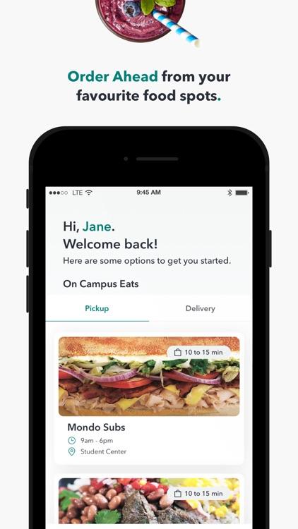 Boost: Mobile Food Ordering