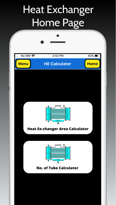 Heat Exchanger Area screenshot 1