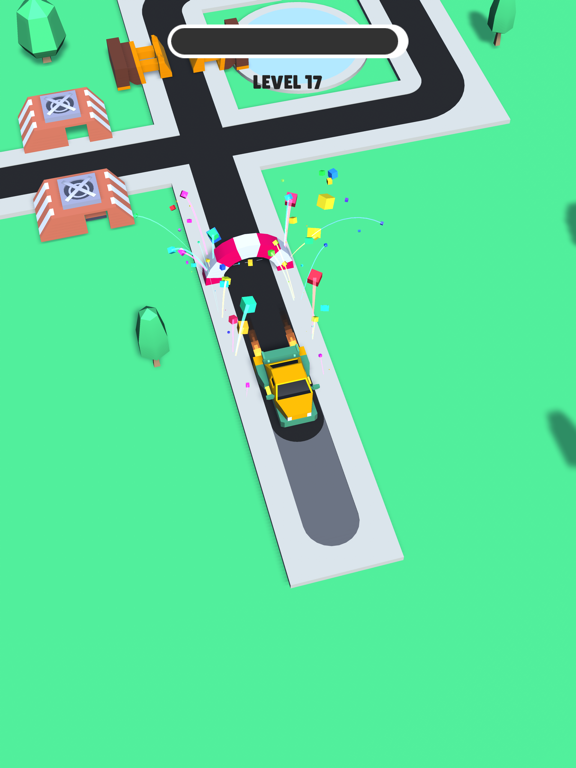Trappy Road - Car & traps game screenshot 11