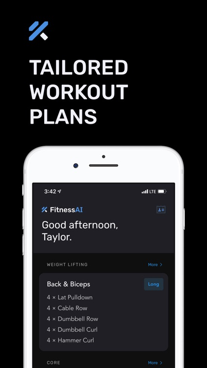 Home Workouts by FitnessAI screenshot-5