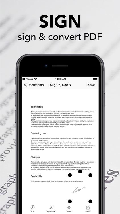 Scanner Pro - Scan&Convert PDF
