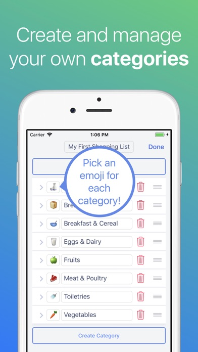 Grocery List ◎ Screenshot