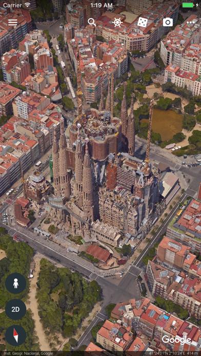 Screenshot #3 pour Google Earth