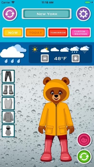 天気と今日の服装のおすすめ画像3