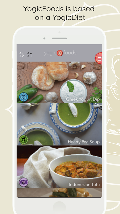Yogicfoods -  Global recipesのおすすめ画像1