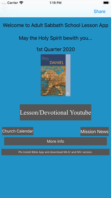Adult Sabbath School Lesson