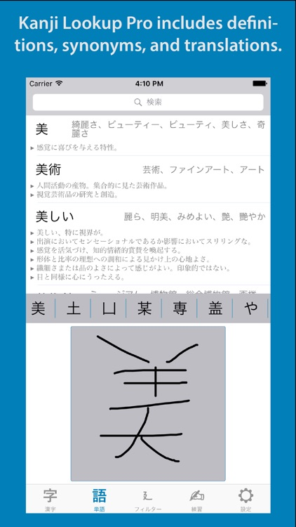 Kanji Lookup Pro screenshot-3