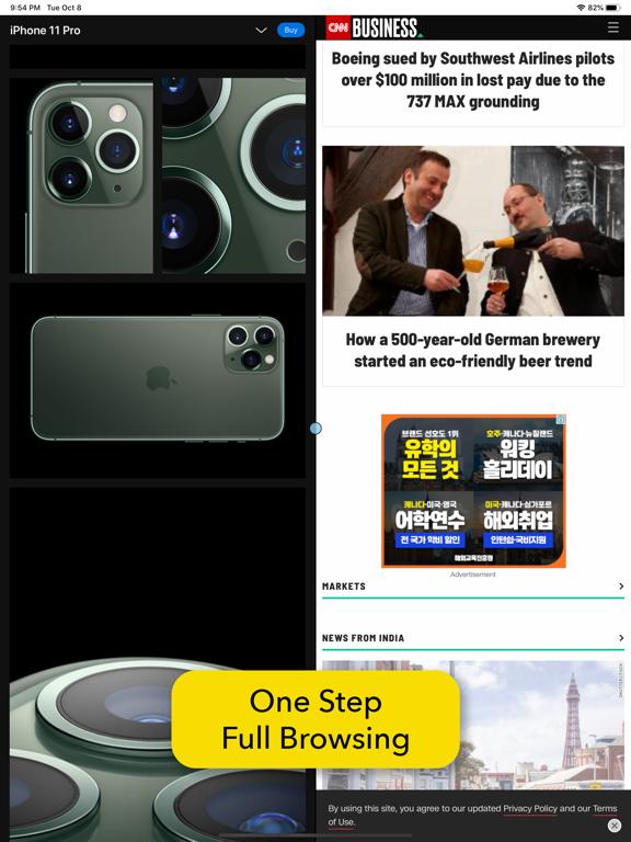 画面分割: マルチタスクのWebブラウザのおすすめ画像7