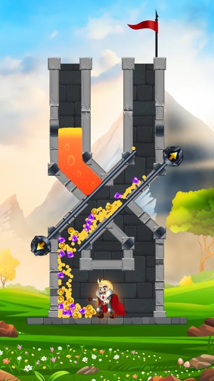 Rescue Knight - Hero Puzzle screenshot-3