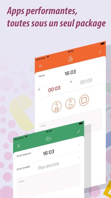Screenshot #3 pour Baby Tracker Pro - Bébé Suivi