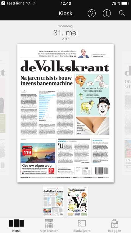 de Volkskrant Krant