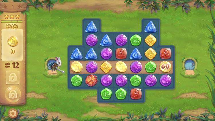 Strongblade: Match 3 Game screenshot-5