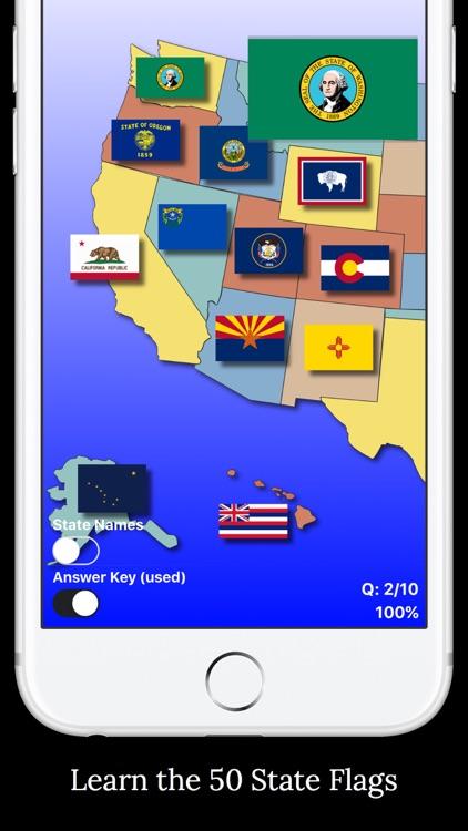 United States Map Quiz Edu Ed. screenshot-4