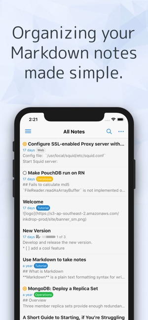 Inkdrop - Robust Markdown App on the App Store