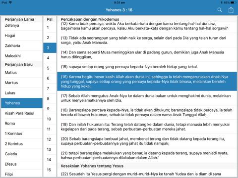 Alkitab HD for iPad - náhled