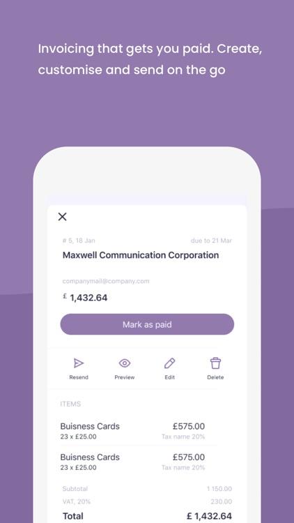 Amaiz – Smart business banking screenshot-5
