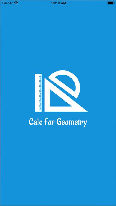 Calc For Geometry screenshot 1