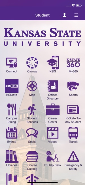 K-State Mobile on the App Store on peru state campus map, black hills state campus map, jacksonville state campus map, ohio state campus map, pennsylvania state campus map, kansas state university mapquest, southern connecticut state campus map, kansas state hat, fort valley state campus map, kansas state resources, washington state university pullman campus map, western state campus map, bowling green state campus map, wa state campus map, midwestern state campus map, kansas state bookstore, kansas state schedule, kansas state halftime, kansas state alumni, mcneese state campus map,