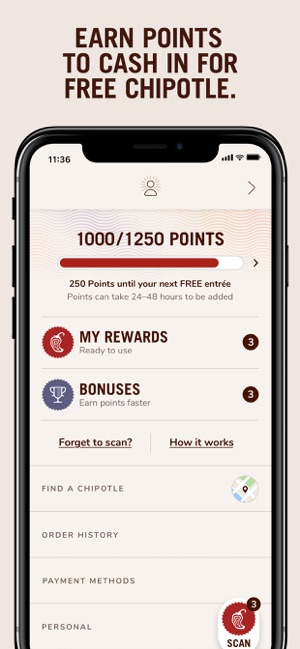 Chipotle on the App Store