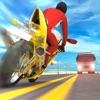 高速道路の自転車交通ライダー - iPhoneアプリ