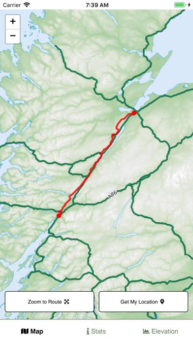 Great Glen Way Map screenshot 1