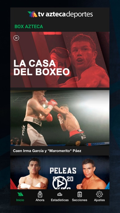 Azteca Deportes review screenshots