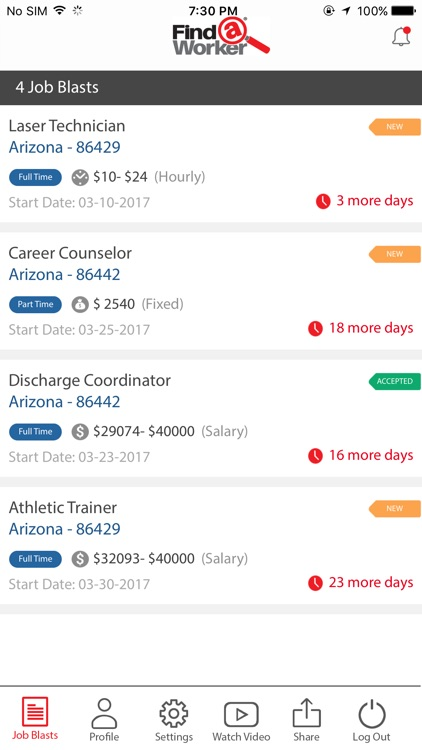 Find A Worker App screenshot-3
