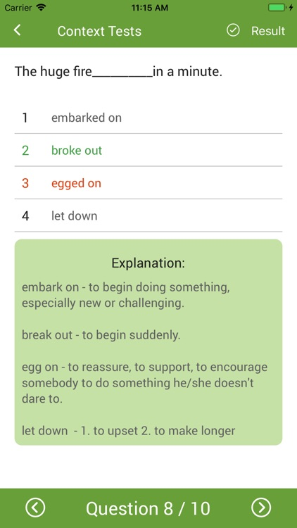 English Phrasal Verbs Handbook screenshot-4