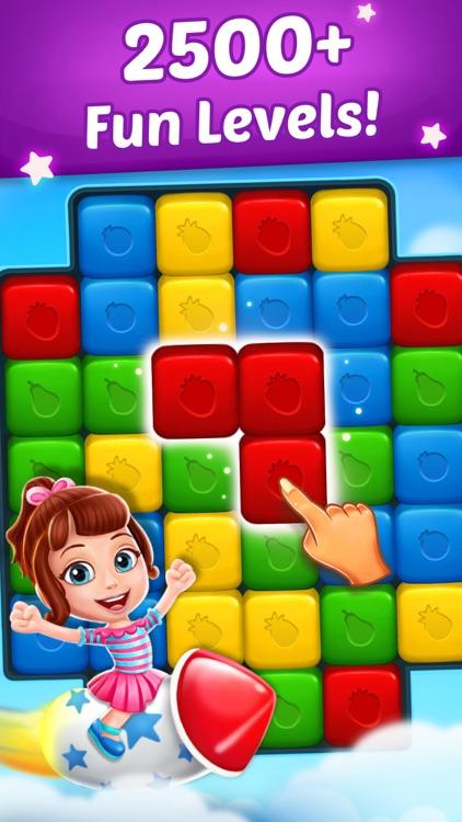 Fruit Cube Blast: Match 3 Game screenshot-0