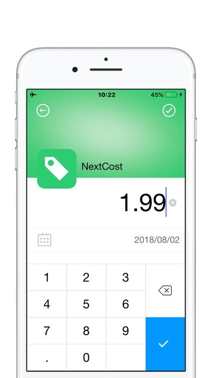 NextCost-Daily Cost,My Savings screenshot-4