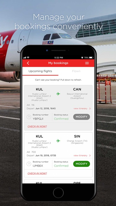 Download AirAsia for Pc