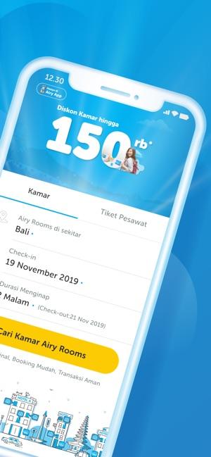 Airy Hotel Tiket Pesawat Dans L App Store