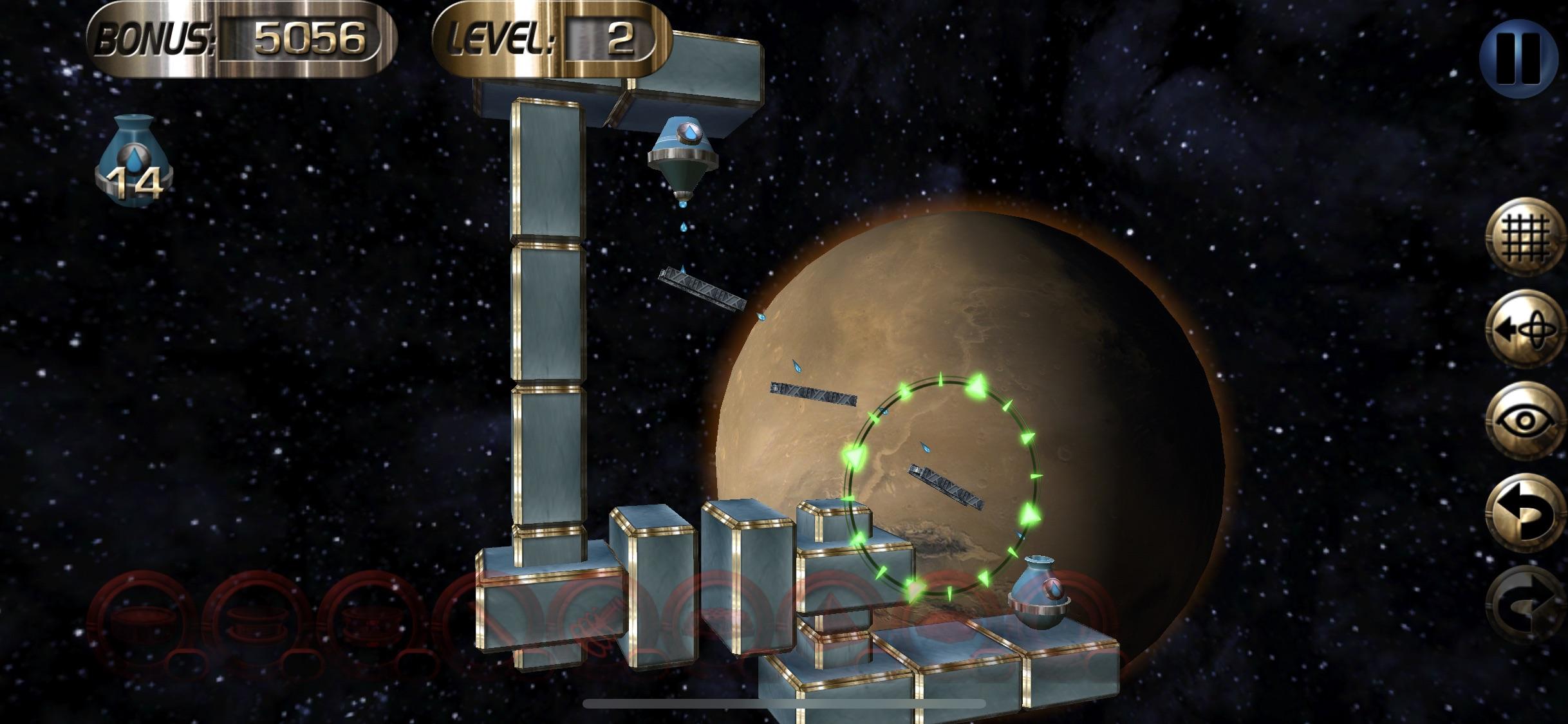 Screenshot do app Enigmo 2