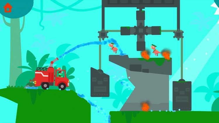 Dinosaur Fire Truck: Kids Game screenshot-6