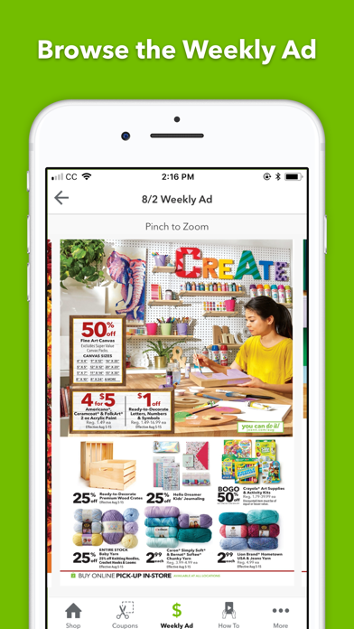 Screenshot for JOANN - Shopping & Crafts in United States App Store