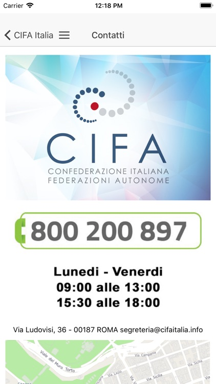 CIFA Italia screenshot-8
