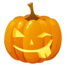 Trick Halloween Stickers