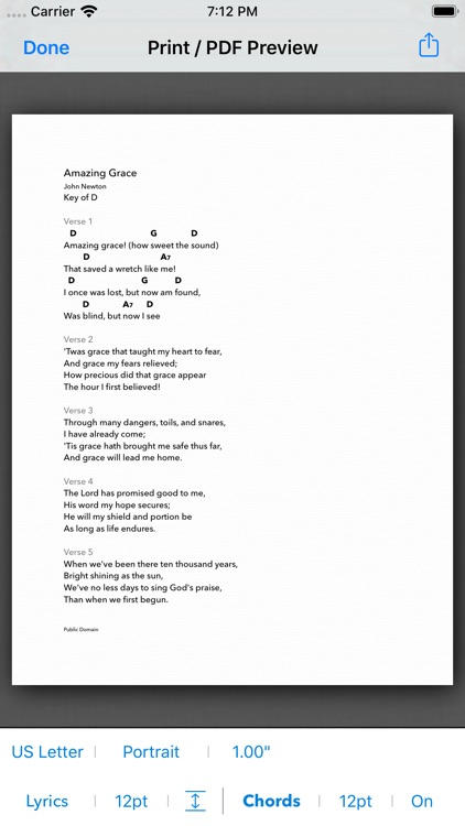 SongSheet Pro: Lyrics & Chords screenshot-4