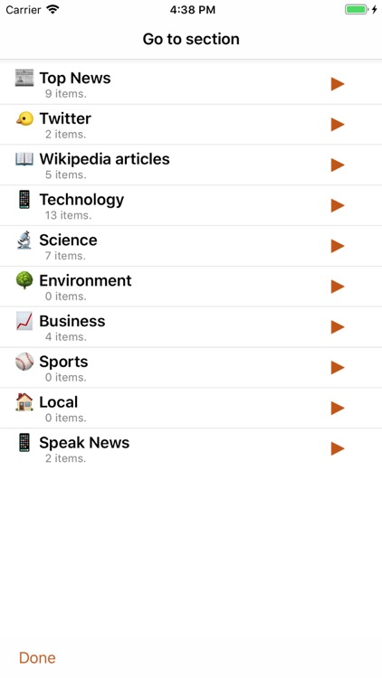 Speak News - RSS news reader screenshot-6