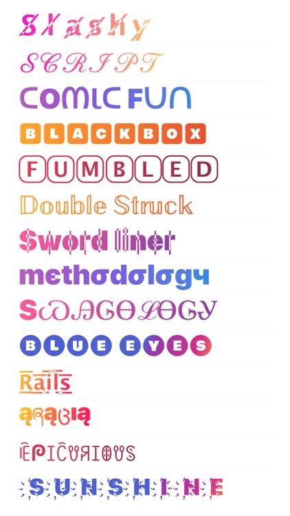Font App - Cool Fonts Keyboard screenshot-0