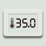 Цифровой термометр App на пк