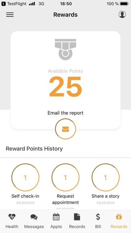 ClinicDr Patient App screenshot-8