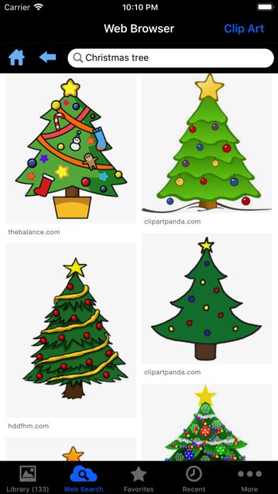 Holiday Greetings review screenshots