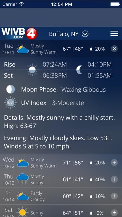 4 Warn Weather - WIVB screenshot-3