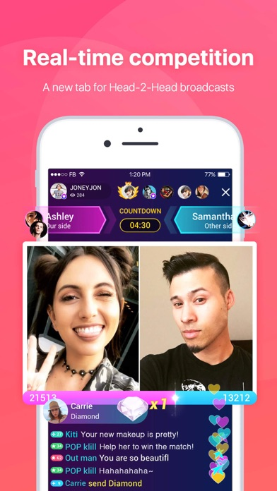 Screenshot for LiveMe – Live Video Chat in Lebanon App Store