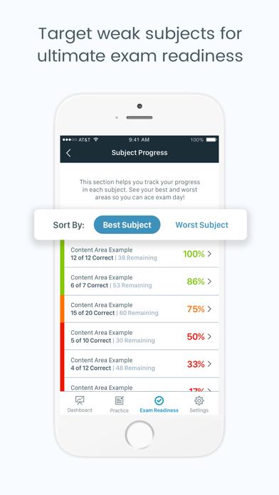 HESI A2 Pocket Prep Screenshot